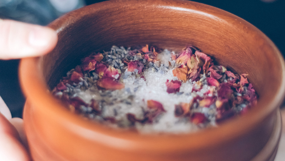 Salts as part of the retreat