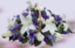 PRF - WHITE LILY & BLUE IRIS BASKET.jpg