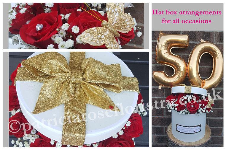 PRF - GOLDEN WEDDING ANNIVERSARY HAT BOX