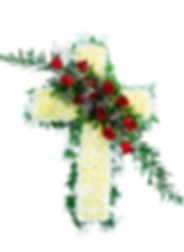 Pure-Cross-with-Red-Rose-diagonal-spray_