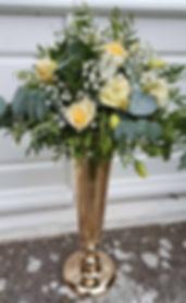 PRF - WEDDING TABLE ARRANGEMENT - YELLOW