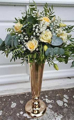 PRF - WEDDING TABLE ARRANGEMENT - YELLOW