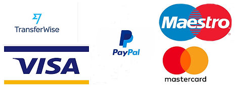 BUSINESS PAYMENT ACCEPTED METHOD SYMBOLS