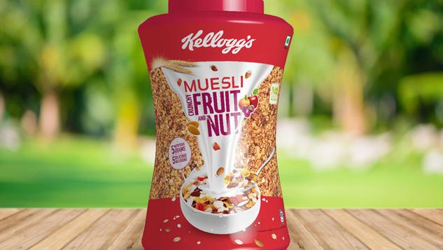 Kellogg's / Muesli Jar