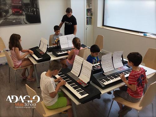 Taller de Piano en grupo | Madrid