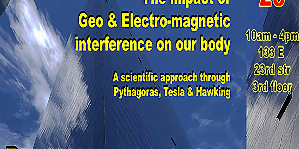 The Impact of Geo & Electro-magnetic Interference on our Body