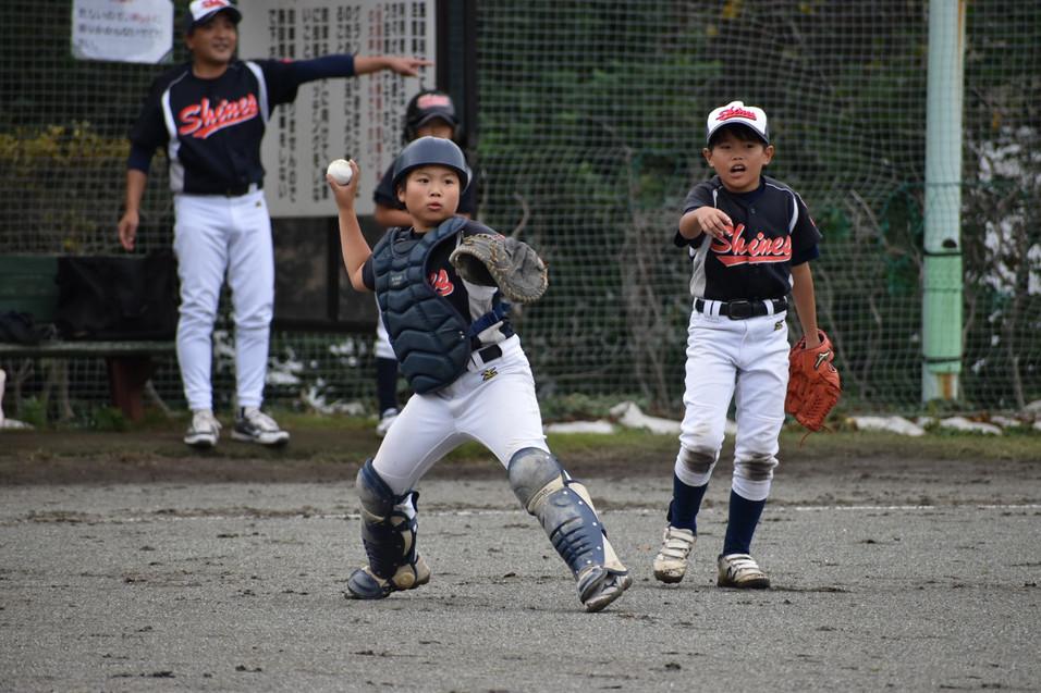 20191019 新人戦vs下福田南スターズ