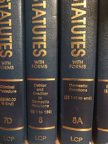 Domestic Relatons Law Books
