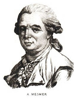 Franz Anton Mesmer, one of the pioneers