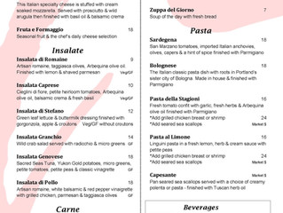NEW AND IMPROVED SUMMER MENUS!