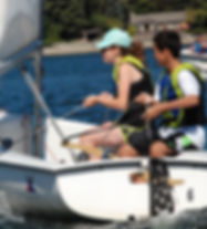 Sailboat racing can build teamwork, confidence, and a sense of adventure during camp.