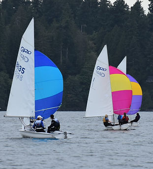 Racers learn advanced sailing skills that will last a lifetime