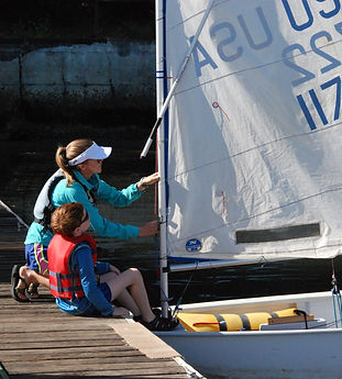 Sailing instructors provide great tips and lessons