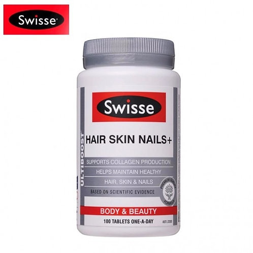 Swisse Ultiboost Hair Skin Nails 100 Tablets