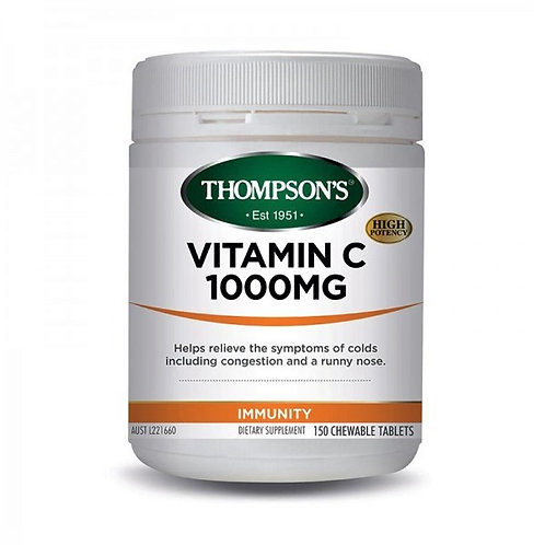 Thompson's Vitamin C 1000mg Chewable