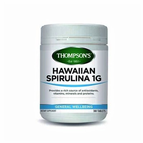 Thompson's Hawaiian Spirulina 1000mg