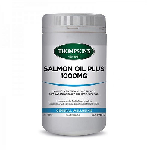 Thompson's Salmon Oil Plus 1000