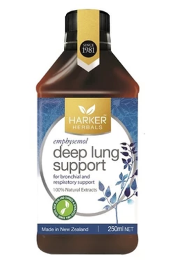 Harker-Herbals Deep Lung Support 250ml Harker-草本清肺液抗霧霾(吸烟肺)
