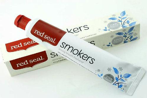 Red Seal -天然草本去煙酒茶漬牙膏(不含氟) - 100gm Smokers Toothpaste
