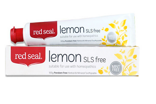 Red Seal -Lemon SLS free Toothpaste