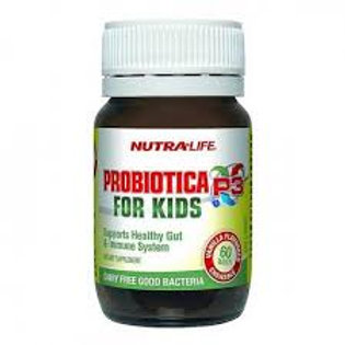 Nutralife Probiotica for Kids 60粒 紐樂-兒童益生菌
