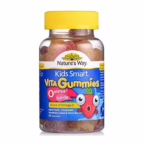 Natures Way Vita Gummies Omega 3 Fish Oil 60caps