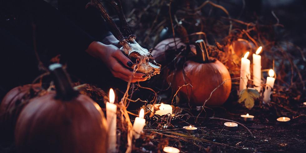 Samhain - Full Moon, Merry Meet