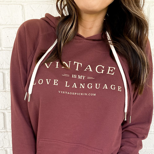 Love Language Hooded Pullover