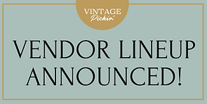 VENDOR LINEUP ANNOUNCED_Vintage Pickin S