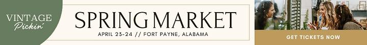 Vintage Pickin Spring 2021 Market Get Ti