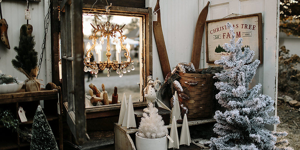 Vintage Pickin'® Christmas Market: Antiques, Home-Decor, Holiday Accents & Gifts // Nov 20th-21st