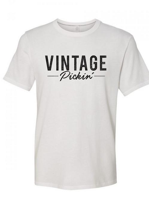 Vintage Pickin'® Standard Tee (White)