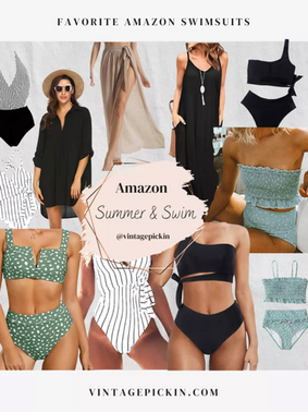 Favorite Swimsuits on Amazon right now