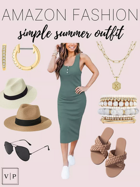 Simple Summer Amazon Outfit