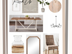 Dining Room RoundUp