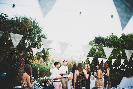Charleston, SC Backyard Wedding