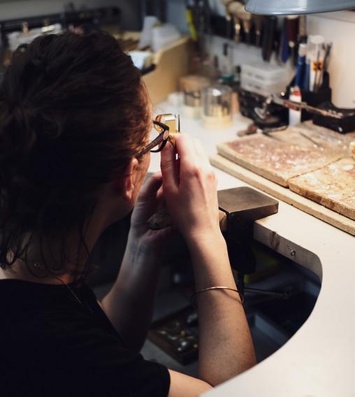 Handmade jewellery Rachel Swan Goldsmith