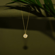 Diamond amulet still life