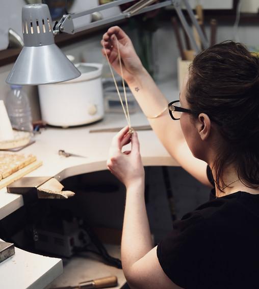 Rachel Swan Goldsmith, handmade jewellery, Dublin