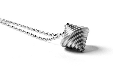 Silver necklace, Handmade in Dublin, Ireland.