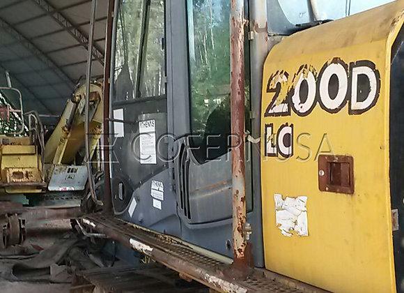 Escavadeira John Deere 200D LC - Peças