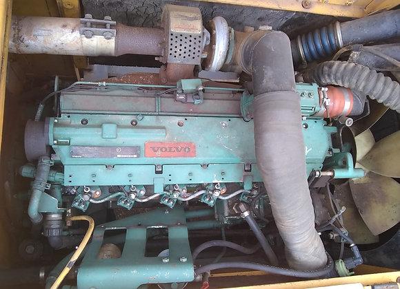 Motor Volvo D7D Escavadeira EC240