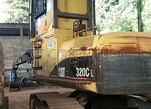 Escavadeira Caterpillar 320CL - Peças