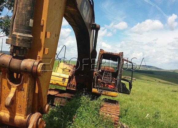 Escavadeira Caterpillar 336D - Peças