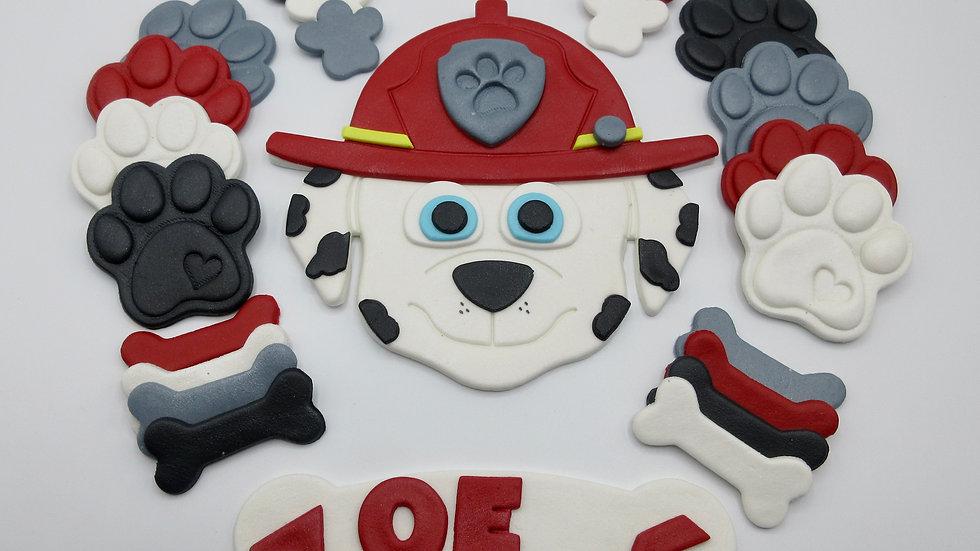Marshall PAW patrol cake topper