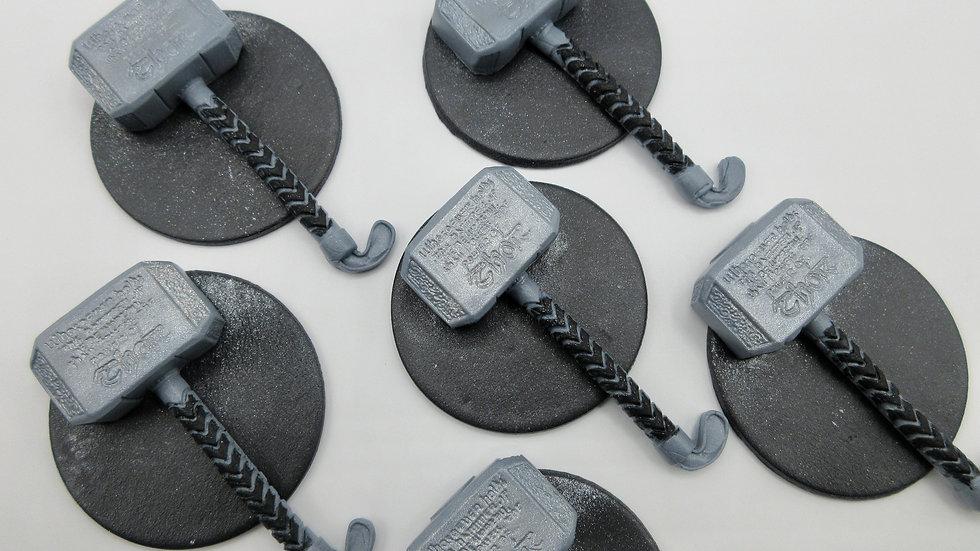 Edible Thor  Cupcake Toppers