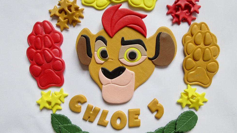 Kion Lion Guard Edible Cake Topper