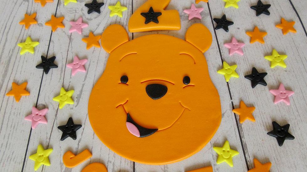 Winnie the Pooh edible cake topper