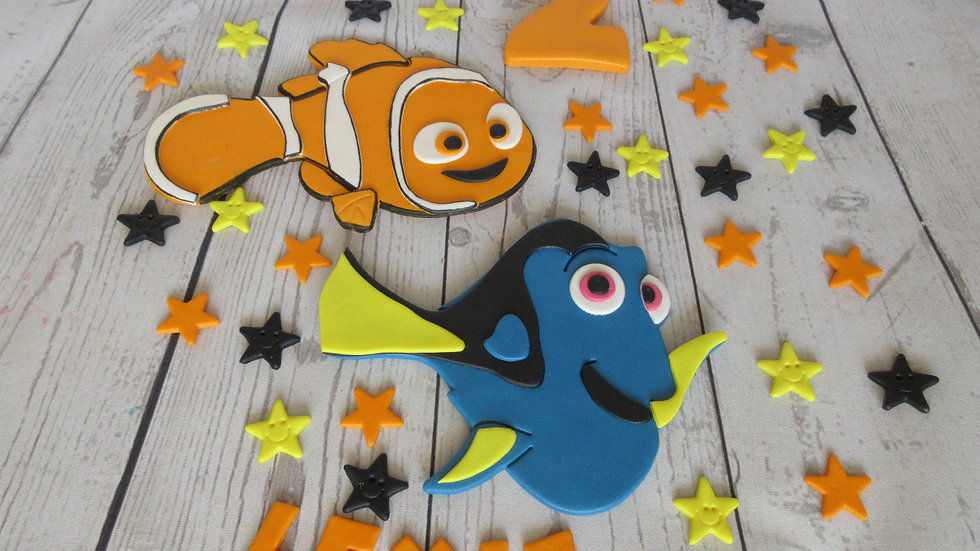 Finding Nemo, Dory edible cake topper