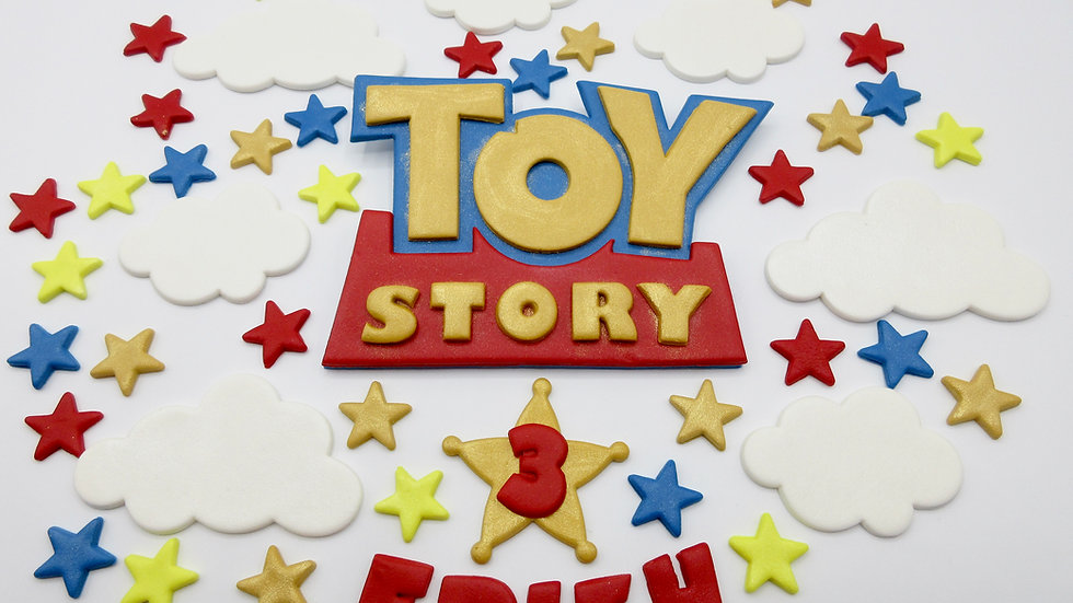 Toy Story edible cake topper.